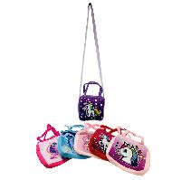 "8.5""x8"" Printed Unicorn Cross Body Purse [Double Handle]"